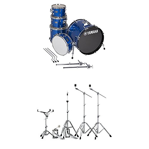 Yamaha Rydeen Fusion Drum Kit with Hardware, Fine Blue