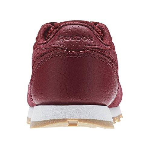 Reebok Classic Leather Estl, Zapatillas Unisex Bebé Rojo (Urban Maroon/White 000)