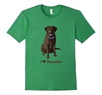 Men's I Love Chocolate Labrador Retrievers 3XL Grass