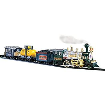 Boys Deluxe Lights and Sounds Train Set