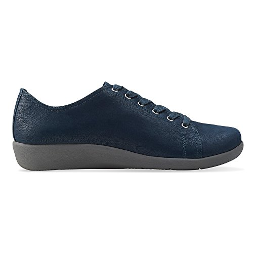 Clarks Sillian Glory Blue Synthetic Para Mujer