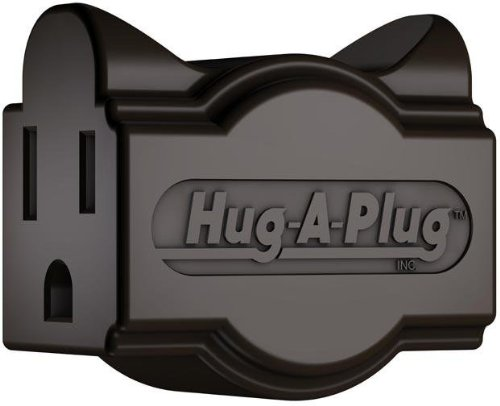 Hug Plug Grounded Right Adapter product image