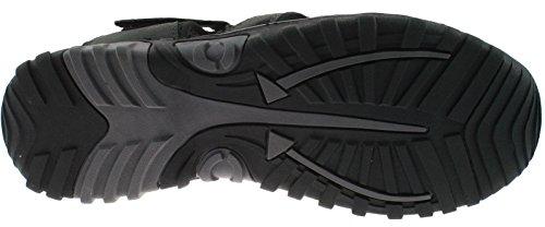 chiusa Sport velcro Gents Grey elastico Comfy Uomo e Punta in Mens Red Terminale Sandali chiusura in robusto P8wRnxd