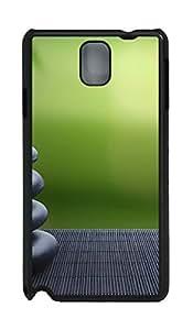 Samsung Note 3 Case Japan Bamboo Zen Rocks404 PC Custom Samsung Note 3 Case Cover Black