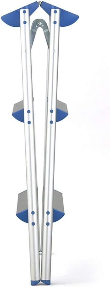 N / A Schritt Hocker, Haushalt Folding Schritt Hocker, Leiter aus Aluminium, Verdickungs- und Widening Anti-Rutsch-Stufenleiter (Größe, 49x70x79CM),49x70x79CM 49x70x56cm