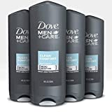 Dove Men+Care Body Wash Clean Comfort 18 oz 4 Count