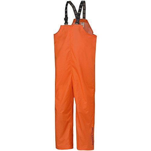 (Helly Hansen Workwear Men's Mandal Fishing and Rain Bib Pant, Dark Orange, X-Large)