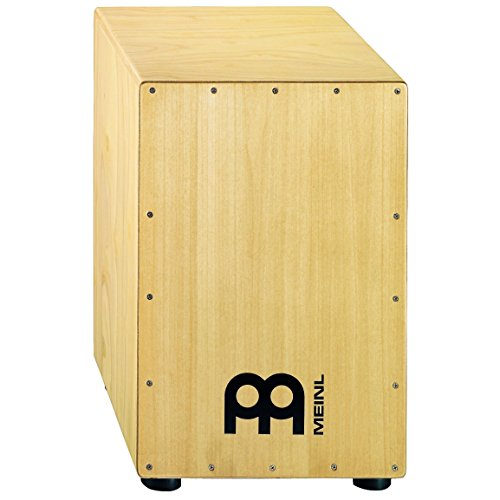 Meinl Percussion HCAJ1NT Headliner Series Wood String Cajon for Adjustable Snare Effect, Full Size (VIDEO)