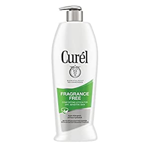 Curél Fragrance Free Comforting Body Lotion for Dry, Sensitive Skin, 20 Ounces