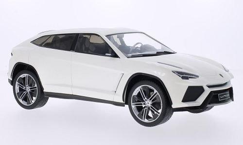 Lamborghini Urus  Metallic White  2012  Model Car  Ready Made  Mcg 1 18