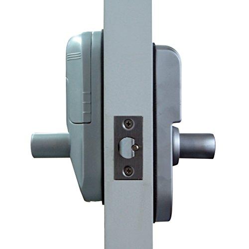 assa abloy digi electronic digital security fingerprint and keypad keyless door lock 6600 98. Black Bedroom Furniture Sets. Home Design Ideas