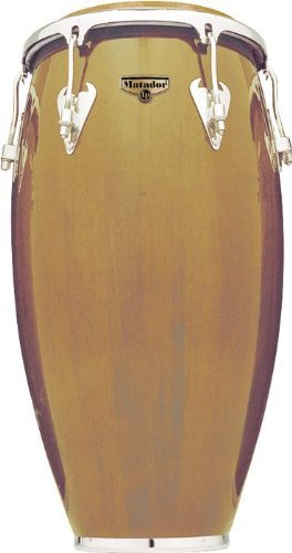 Latin Percussion LP Matador 12-1/2'' Wood Tumbadora - Natural/Chrome by Latin Percussion