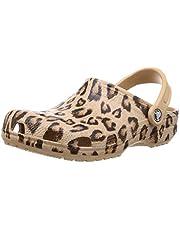 Crocs Men's and Women's Classic Animal Print Clog | Zebra and Leopard Shoes