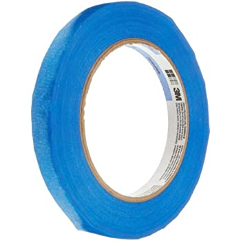"3M 2090 Scotch-Blue Painters Tape, 0.5"" width x 60yd length (1 roll)"