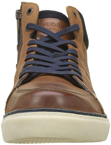 Top cognac blu Sneakers Brown Cizain High scuro Redskins t6pqn
