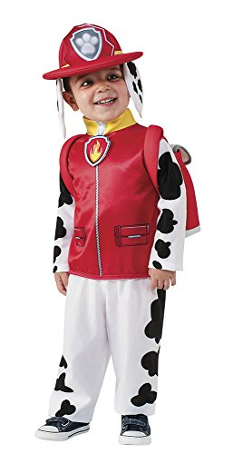Rubie's Costume Toddler PAW Patrol Marshall Child Costume, O