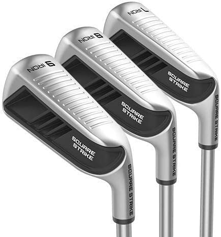 Square Strike Irons – 7, 8, 9 Irons – Golf Iron Set for Men Women