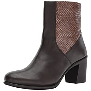 Aerosoles Women's Hole Fame Mid Calf Boot, Dark Brown Leather, 11 M US