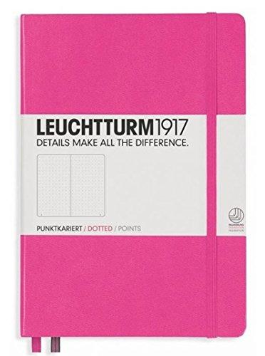 Leuchtturm1917 Classic Hardcover Dotted Medium Notebook Pink