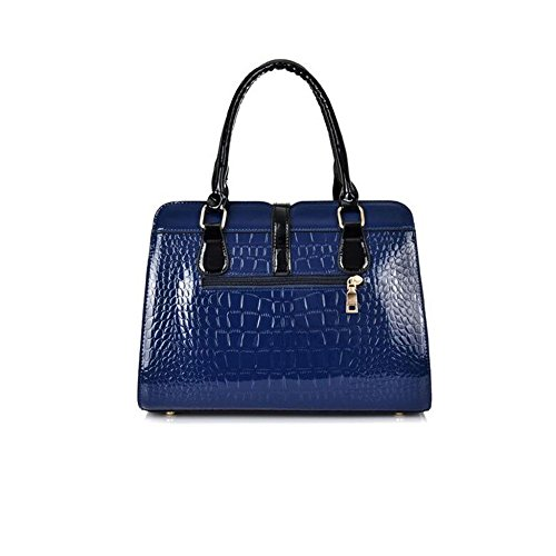 Fashion Sac Femmes Crocodile Crossbody Blue Stéréotypes Main À Pattern Bailiang Bandoulière Pu Evw8dqFxF