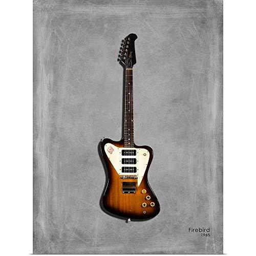 GREATBIGCANVAS Poster Print Entitled Gibson Firebird 65 by Mark Rogan 27