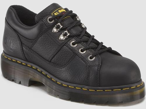 Dr. Martens Gunby Steel Toe Shoe,Black,6 UK/8 M US Women's/7 M US Men's by Dr. Martens (Image #1)