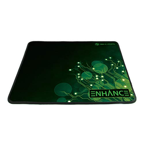 Enhance gx-mp1 Gaming Mouse Pad XL con baja fricción Tracking superficie & Goma Antideslizante grip – Funciona con...