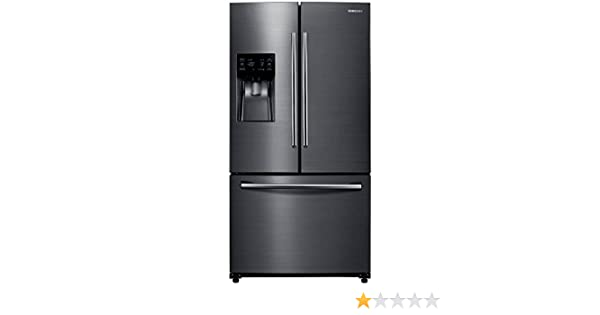 Samsung RF263BEAESG/RF263BEAESG/AA/RF263BEAESG/AA 24.6 Cu. Ft. Black Stainless French Door Refrigerator