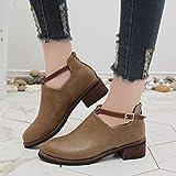 Hemlock Teen School Flat Booties Womens Ankle Boots Autumn Martin Shoes Hoof Heels Boots Shoes