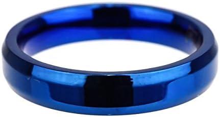 ジナブリング (JINA BRING) 指輪 リング 高品質PVDコーティング ステンレスリング アレルギーフリー ブルー #1