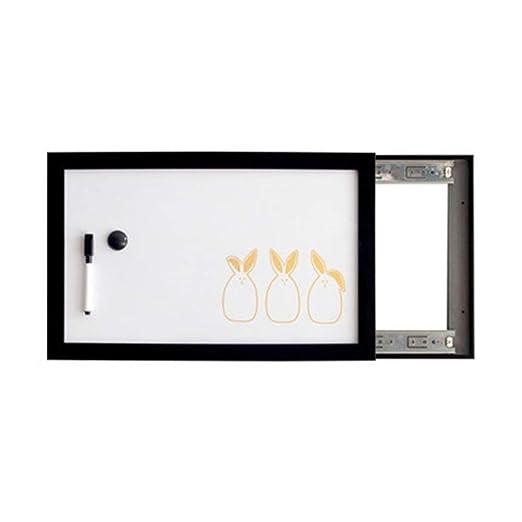 MISHUAI Pizarra Caja de medidor Ornamento Pared Tablero de ...