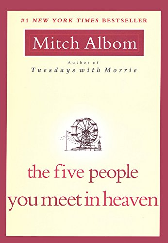 Book cover for The Five People You Meet in Heaven