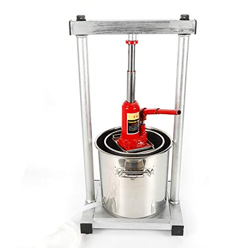 Wine Press Barrel,12L Fruit Crusher Making Press Wine Juice Grinder Juicer Stainles Cider Grape with Hydraulic Jack De Stock Multi-Purpose Bucket Column Usa from LOYALHEARTDY19