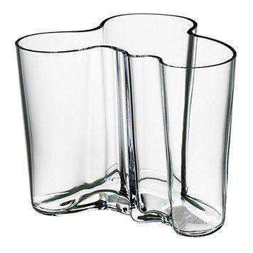 Aalto Clear Vase (Iittala Alvar Aalto Collection Vase 4.75
