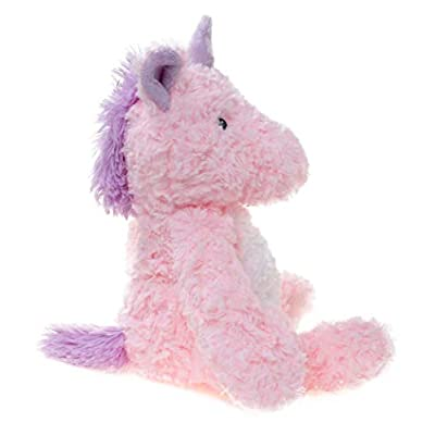 WILDREAM Plush Unicorn Stuffed Animal ,Pink and White,9.8 Inches: Toys & Games