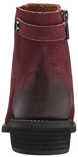 Franco Sarto Kvinders Cognac Ankelstøvle Mørk Bordeaux p15jlbU