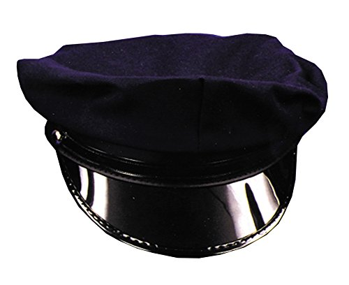 [UHC Navy Police Security & Law Enforcement Hat Child Halloween Costume Accessory] (Lady Law Costume)