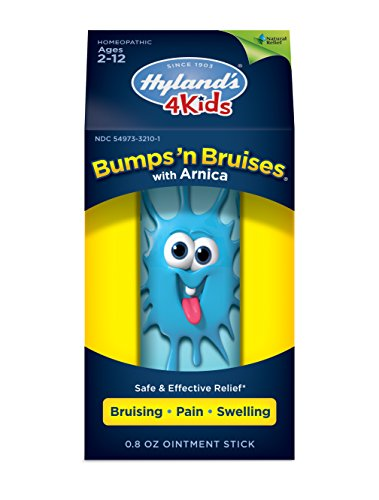Kids Bumps n Bruises Stick by Hyland's 4Kids, Natural Relief of Bruising, Pain and Swelling for Children, 0.8 ()