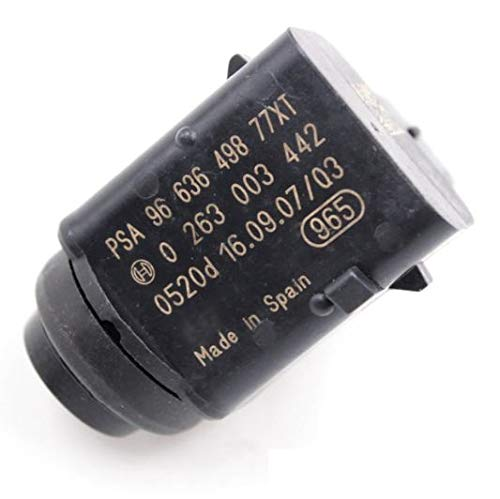 Haimall (4pcs) 9663649877XT PDC Parking Sensor Fit Peugeot 407 SW Citroen Renault 0263003229 0263003442 PSA 9663649877XT