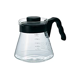 Hario V60 Glass Coffee Server (700ml, Black)