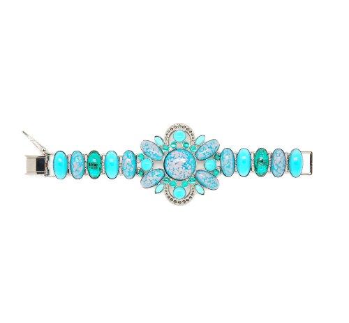 Mouton Collet - FE406-14 - Bracelet Femme - Laiton 13.0 Gr - Cristal