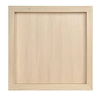 darice 97824 unfinished wood shadow box 12 12 inch
