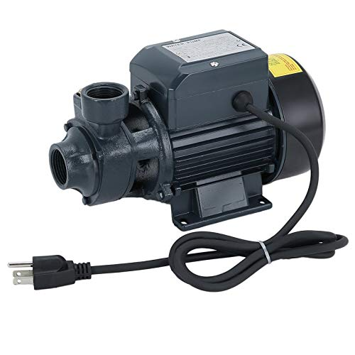 Centrifugal Clean Water Pump 1/2HP 24FT Suction Electric Industrial Household Professional Centrifugal Clear Clean Water Pump Pool Pond Farm Tool