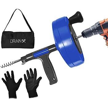 Dewalt Dcd200d1 20v Max Xr Brushless Drain Snake Kit