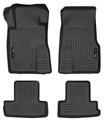 - Husky Liners Front & 2nd Seat Floor Liners Fits 10-14 Mustang Convertible/Coupe