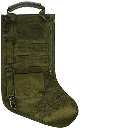 RUCKUP RUXMTSG Tactical Christmas Stocking, OD Green, Full,]()