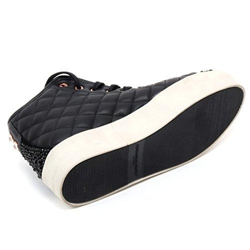 B6686 Alta Sneaker Alexander Nero Donna Shoe London Scarpa Woman Smith Hw7Bpnnfq4