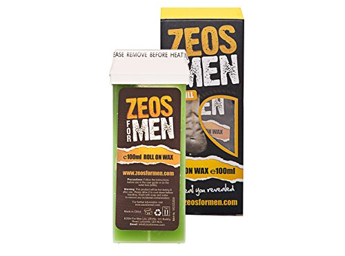 ZEOS Hair Removal Refill Roll On Wax for Men 100 ml
