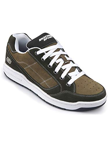 (Skechers Prodigy Skate Oxfords (15 W, Khaki))