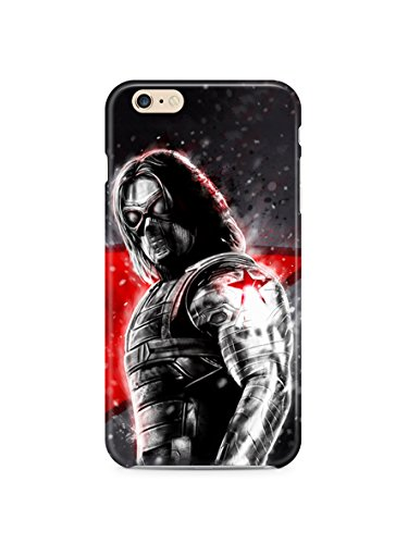 Winter Soldier for Coque iphone 6 6s (4.7in) Hard coque case Cover (win8)